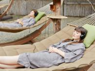 Enjoy Sound Therapy in our Hammock Garden Photo 4