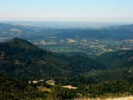 Sugarloaf Ridge State Park - View of Sonoma Valley from Bald Mt. Photo