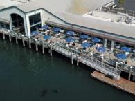 Aerial view of the Tides Wharf Restaurant Photo 2