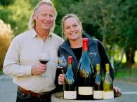 Winemaker and owner Mat Gustafson and his wife Barb Photo 2