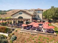 Gloria Ferrer Caves & Vineyards from above Photo