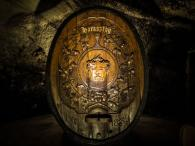 Buena Vista Winery Champagne Cellars Cave - Haraszthy Cask in Champagne Cellars Cave Photo 2