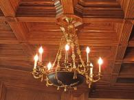Chandelier at Ledson Winery Photo 20