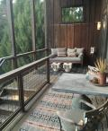 Lounge and dine on covered deck Photo 9