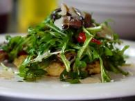 mascarpone polenta, wild mushroom and arugula salad Photo 5