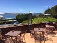 The patio at the Bay View Restaurant at Inn at the Tides Photo 4