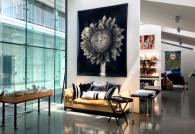 Chuck Close, Sunflower, Jacquard Tapestry Photo