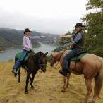 Couple's ride at The Ranch at Lake Sonoma Photo 7