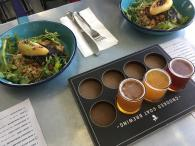 Gourmet tacos from Barrio and craft brews from Crooked Goat Brewing. Photo 8