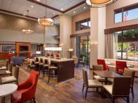 Hampton Inn & Suites lobby and complimentary breakfast in Windsor Photo 5