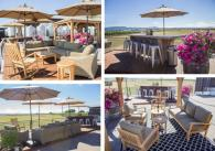 wine club area - Circle M Members can enjoy exclusive seating and tastings on our back pad. Photo 4