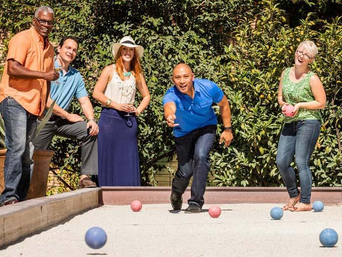 meetings bocce