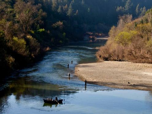 Go fishing at some of Sonoma County's most scenic rivers and lakes