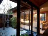 Gaige House + Ryokan, room and patio