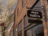 Jack and Tony's Restaurant and Whisky Bar in Railroad Square