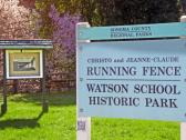 Running Fence - Watson School Historic Park