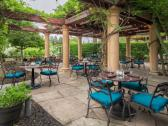 Patio Dining in Bacchus Restaurant & Wine Bar