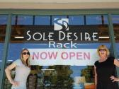 Sole Desire Rack in Railroad Square