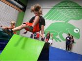Parkour classes & camps for kids & youth